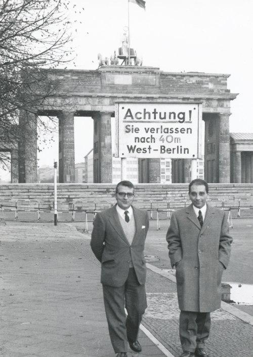 El muro en 1971