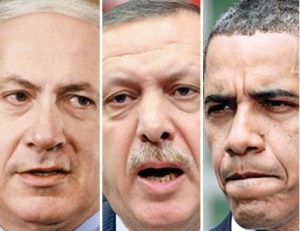 Obama-Netanyahu-Erdogan